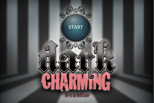 Dark Charming DressUp Doll game