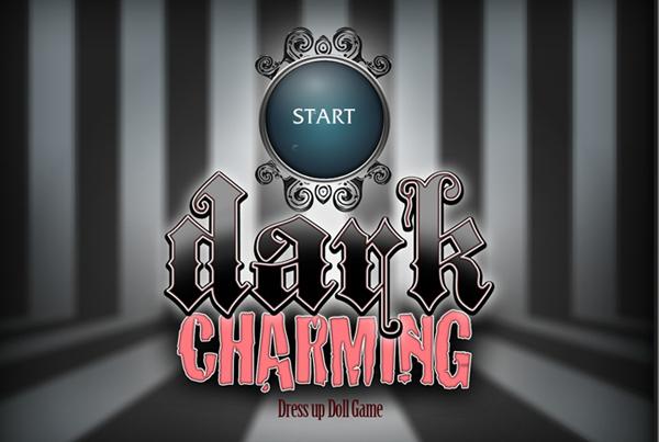 Dark Charming DressUp Doll game